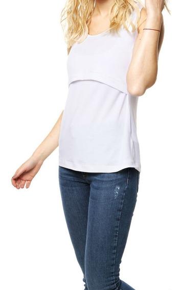 Musculosa Para Amamantar Y Embarazo Marca Luznatal