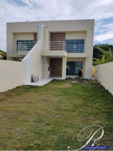 Imagem 1 de 20 de Pedra De Guaratiba, Otima Casa Com 2 Quartos, Quintal, Aceita Financiamento - Ca00936 - 69400698