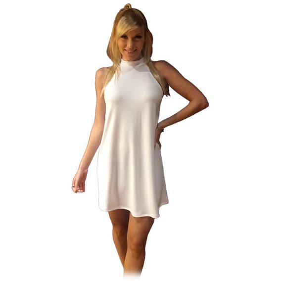 Super Sexy Vestido Mini Suelto Elastizable Colores Talle Unico Grande Marca Mundocross