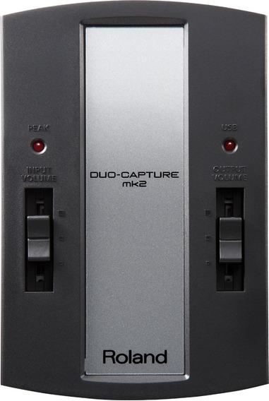 Interface De Áudio Roland Ua11 Mk2 Duo Capture Usb Ua 11 Mf