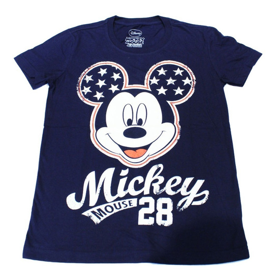 Remera Disney Mujer Mickey Mouse 28 (0053)