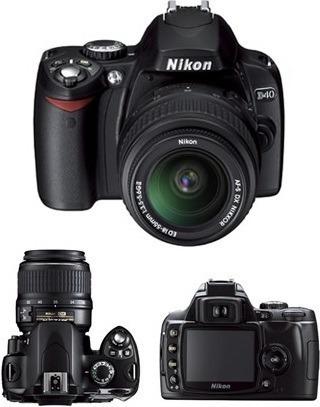 Barbada! Vendo Câmera Nikon Dslr D40