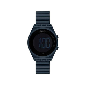 Relógio Euro Feminino Fashion Fit Azul Eubjt016ae/4a