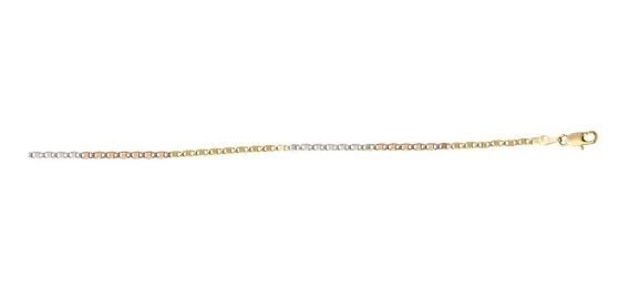 Cadena 55 Cm De Chapa De Oro Mod- 705p