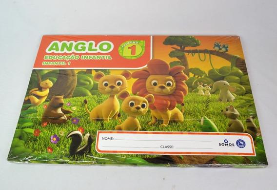 Kit Anglo Educacao Infantil 1 Caderno 1 Somos Educacao