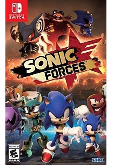 Sonic Forces - Switch Mídia Físca Lacrado