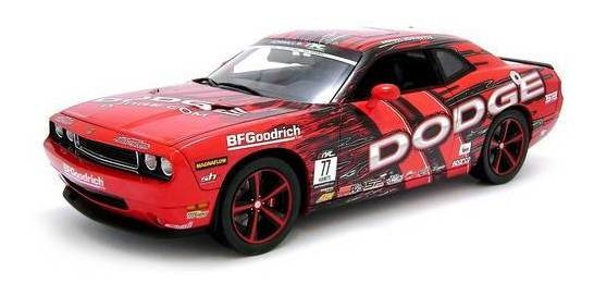 2010 Dodge Challenger Srt8 Drift - Escala 1:18 - Highway 61