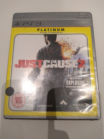 Jogo Just Cause 2 Platinum Semi Novo Ps3
