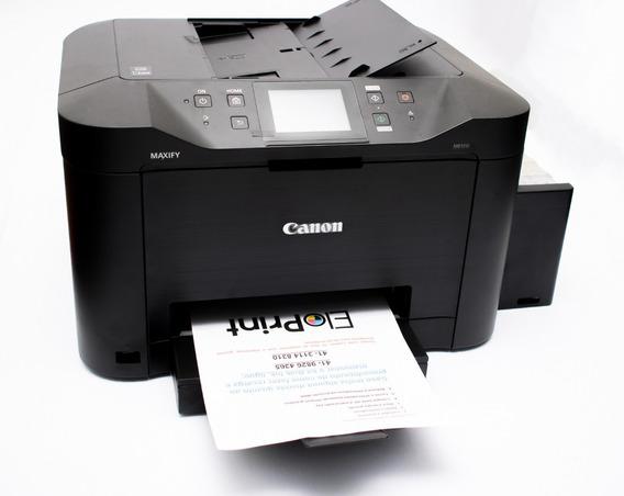 Impressora Canon Mb2710 Bulk Ink 1l Tinta Rende Até 30mil Pg