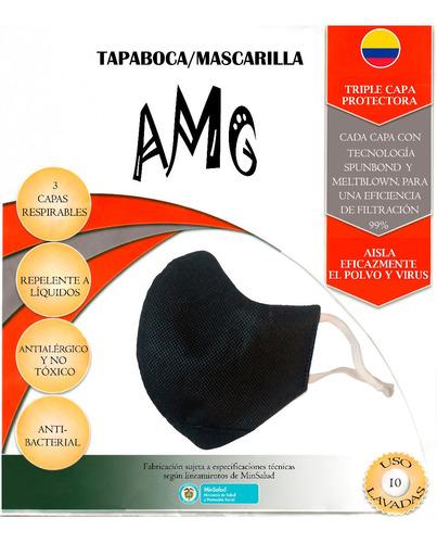 Tapabocas Antiviral