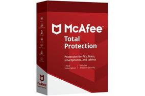 Mcafee Total Protection 1 Ano Ilimitados Dispositivos Leia!