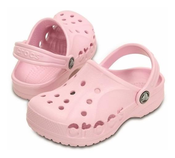Crocs Baya Kids Ballerina Pink Roomy Fit
