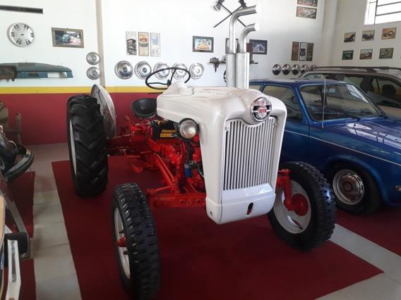 Raridade Trator Ford 600 Ano 1954 Motor 4 Cilindros Gasolina