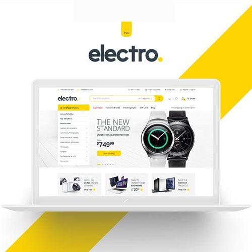 Electro Wordpress + Ecommerce Theme Top Mundial 2020