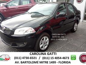 Fiat Siena 1.4 El Pack Op Gnc Tasa 0% Entrega Ya Cont Permut
