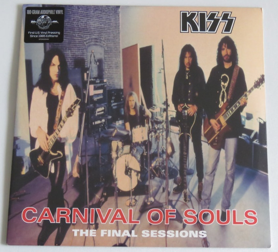 Kiss Carnival Of Souls The Final Sessions Lp 180 Gramas