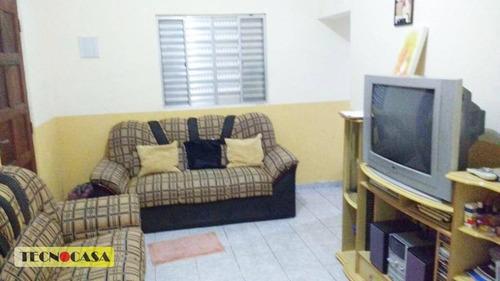 Imagem 1 de 27 de Casa Com 1 Dormitório À Venda Por R$ 215.000,00 - Ilha Das Caieiras - Praia Grande/sp - Ca3873