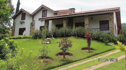 Imagem 1 de 21 de Chácara 2.000m2, Sobrado, Condomínio Fechado, 4 Dormitórios, 2 Suítes, Piscina, 10 Vagas, Churrasqueira, Sauna, Área De Lazer - Ch00108 - 69739716