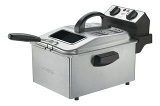 Freidora Electrica Waring Df250b Pollo Papas Aceite