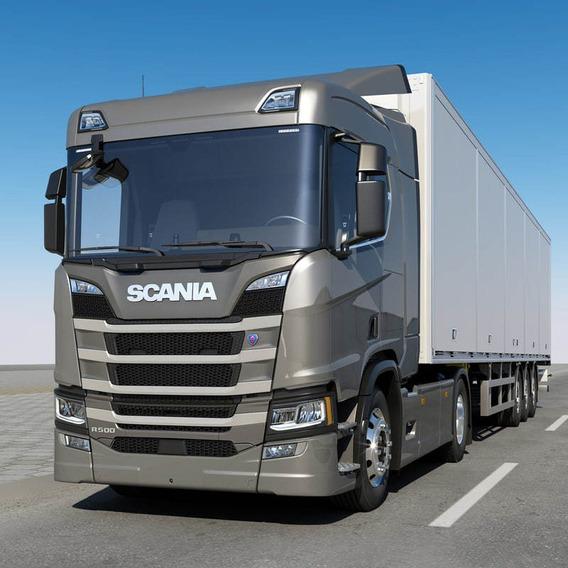 Caminhão Scania R500 - Carta Contemplada