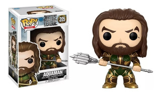 Funko Pop Aquaman 205 Original Pop Heroes