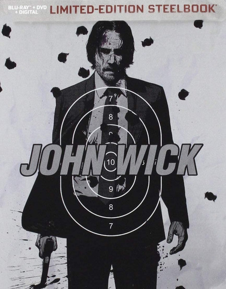 Otro Dia Morir John Wick Steelbook Pelicula Blu-ray + Dvd