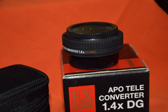 Apo Tele Converter 1.4x Dg Sigma, Para Nikon-af - Usado