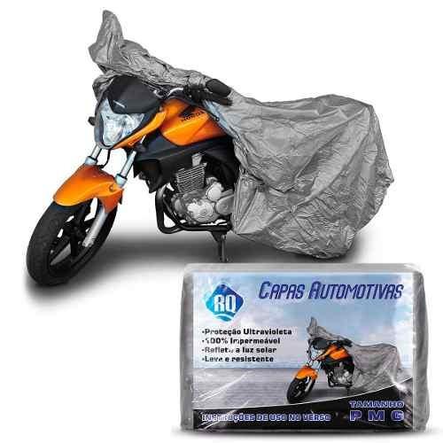 Capa Para Moto 100 % Impermeável Yamaha Factor Ybr Tam P