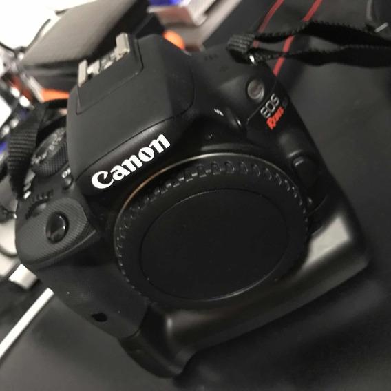 Câmera Canon Sl1 Com Grip E 2 Baterias
