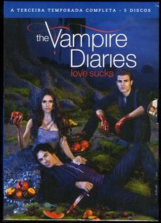 The Vampire Diaries A 3ª Temporada Completa - Novo Lacrado