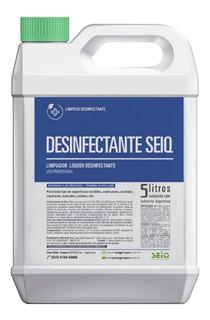 Desinfectante Seiq Amonio Cuaternario Bactericida Bidon 5l