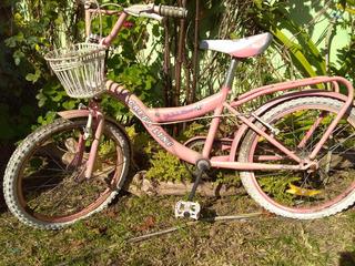 Bicicleta Rodado Nº 20 Green Line Niña