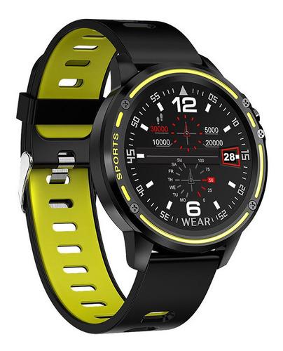 Relógio Inteligente L8 Touch Smartwatch Bluetooth P D'água