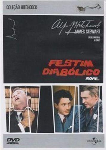 Dvd Filme - Alfred Hitchcock - Festim Diabólico