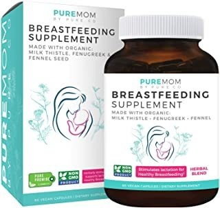 Organic Breastfeeding Supplement - Increase Milk Supply With