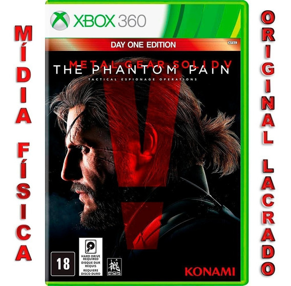 Metal Gear Solid V The Phantom Pain Day One Edition Xbox 360