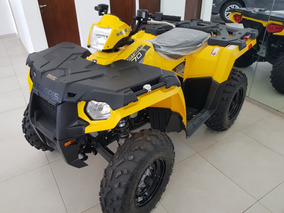 Polaris 570cc 4x4 Awd Cuatriciclo 2018 2017 Yamaha Permuta