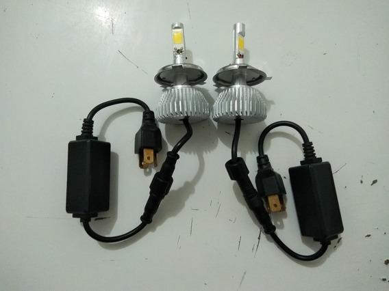 Par Lampadas Automotivas H-tech Led H4 6000k L497