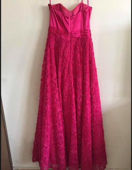 Vestido Noche Aidan Mattox Alta Costura Preloved Luxury