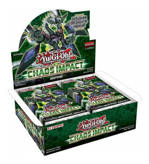 Yugioh Chaos Impact Booster Box Ingles Nueva Sellada Primera