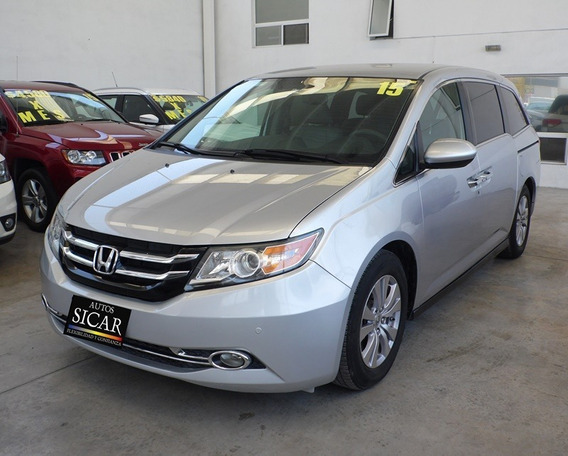 Honda Odyssey 2015 5p Exl Minivan Aut Cd Dvd