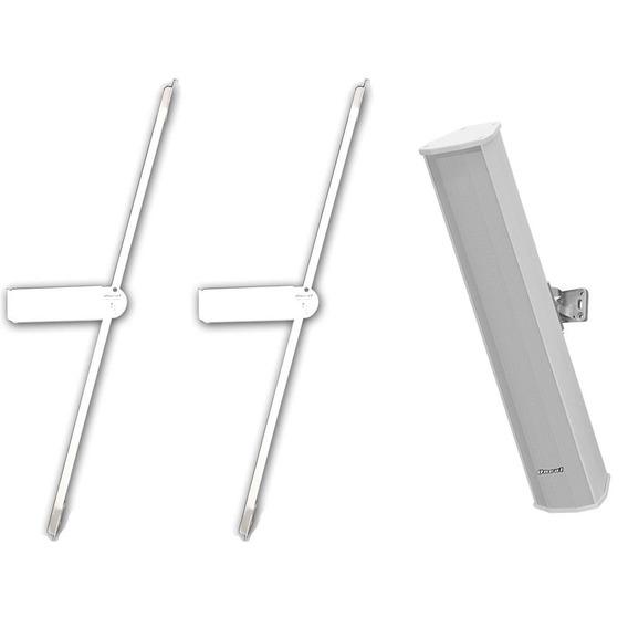 Suporte Vertical Oneal Osv1202.5-br Branco Caixa De Som Line