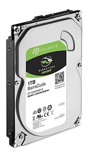Hd Sata Seagate 1tb 1000gb Barracuda 7200rpm 6gb/s 64mb Cach