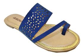 Sandália Feminina Rasteira Dakota Z0711 - Maico Shoes