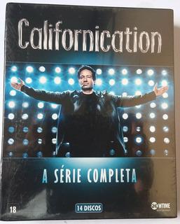 Box Dvd Californication - A Série Completa -14 Dvd