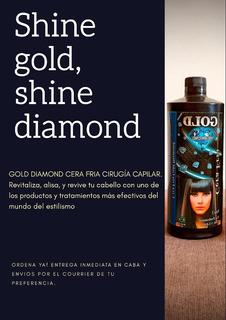 Gold Diamond Cera Fría Capilar