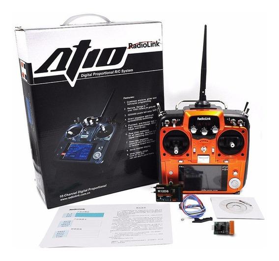 Rádio Controle Transmissor Tx 2.4ghz Drone Helicóptero Avião