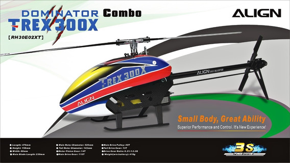 Rh30e02xw T-rex 300x Combo