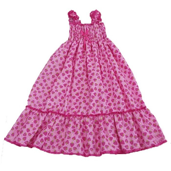 Vestido De Nena Niña Super Fresco