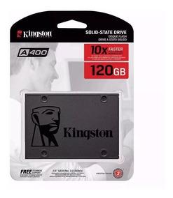 Hd Ssd Kingston 120gb Ssdnow A400 Sata 3 6gb/s 500mb/s